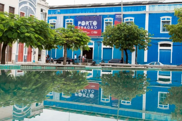 Porto Dragão se estabelece como hub criativo para projetos e artistas. A gestão é da Secretaria da Cultura