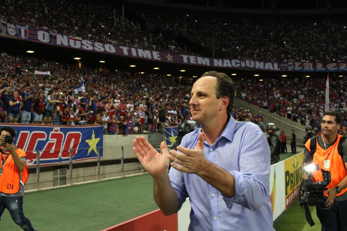 Rogério Ceni é ídolo do Fortaleza, e um dos maiores técnicos da história do clube.