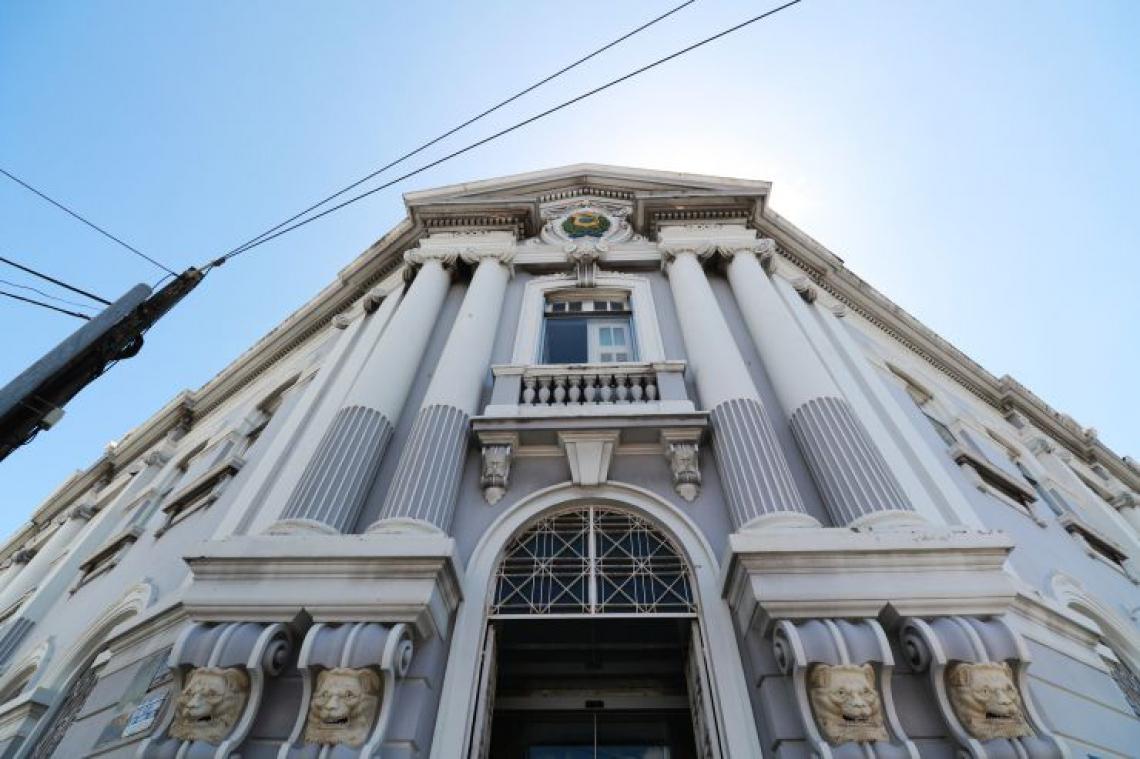 FORTALEZA,CE,BRASIL,,04.07.2019: Fachada do prédio da Sefaz, localizado na avenida Pessoa Anta, no Centro de Fortaleza. (fotos: Tatiana Fortes/ O POVO)