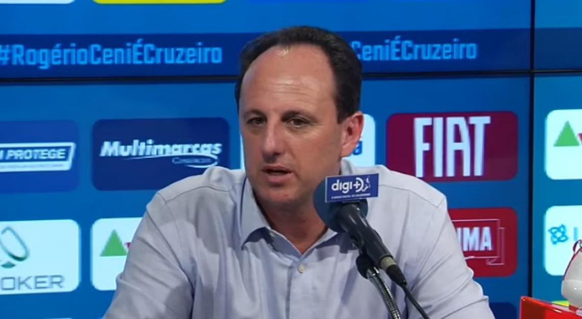 Ceni disse que o elenco do Cruzeiro foi um fator primordial para ele decidir assumir um trabalho na Raposa já em andamento