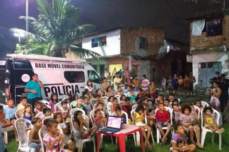 Sessões de teste estão sendo feitas na comunidade do Sossego, no bairro Quintino Cunha