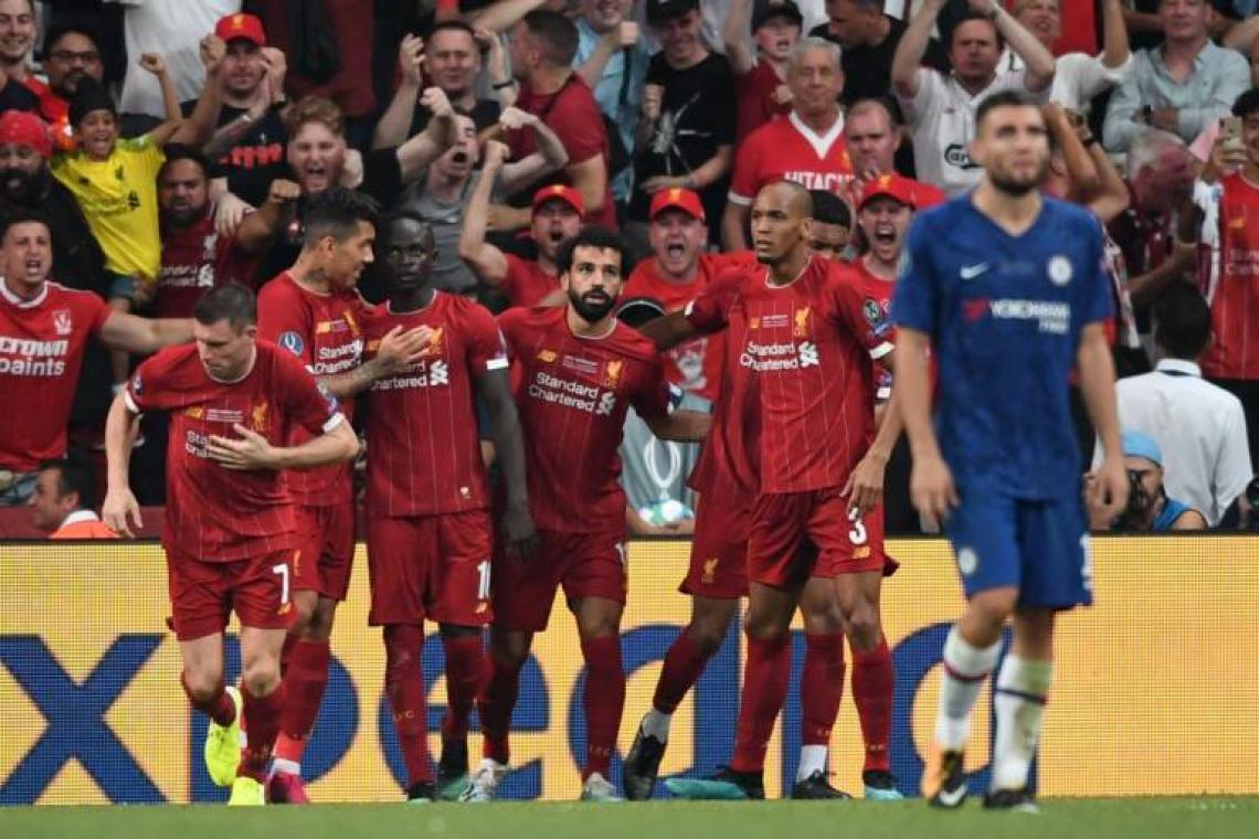 Liverpool venceu Chelsea nos pênaltis após empate no tempo normal (Foto: Ozan Kose/AFP)
