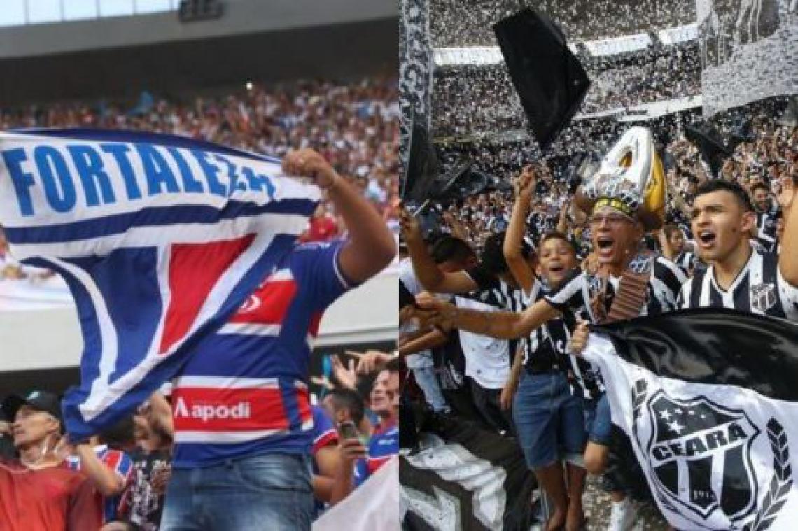 Torcidas de Fortaleza e Ceará podem fazer a diferença nos próximos dez jogos dentro de casa