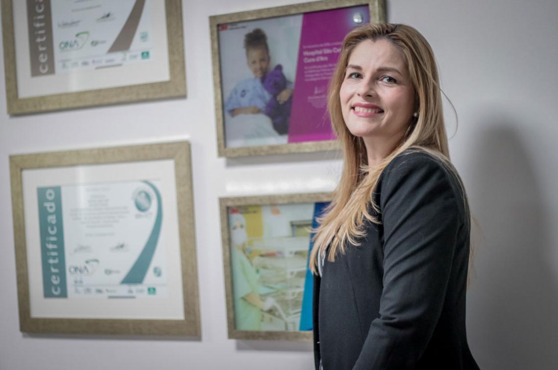 Sílvia Mendonça, enfermeira e diretora assistencial do Hospital São Camilo Fortaleza