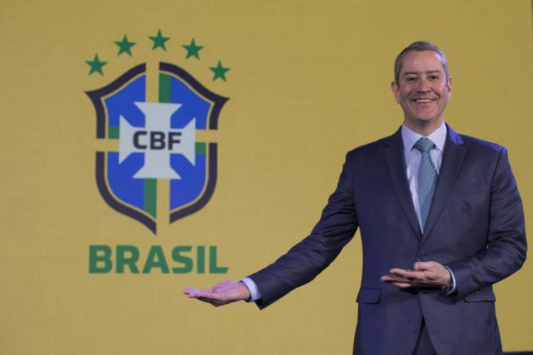 Rogério Caboclo, presidente da CBF, prometeu às Federações que os estaduais terão datas para serem concluídos (Foto: Divulgação / Lucas Figueiredo / CBF)