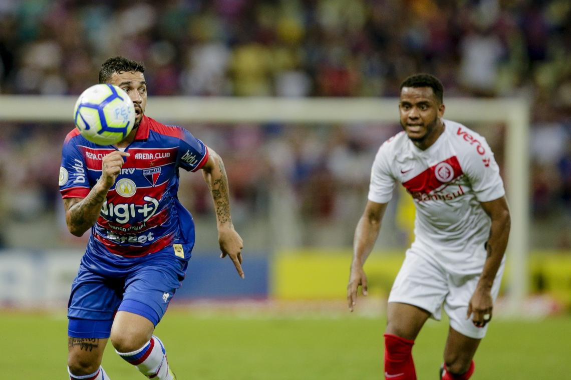 No primeiro turno, Fortaleza perdeu em casa para o Internacional por 1 a 0