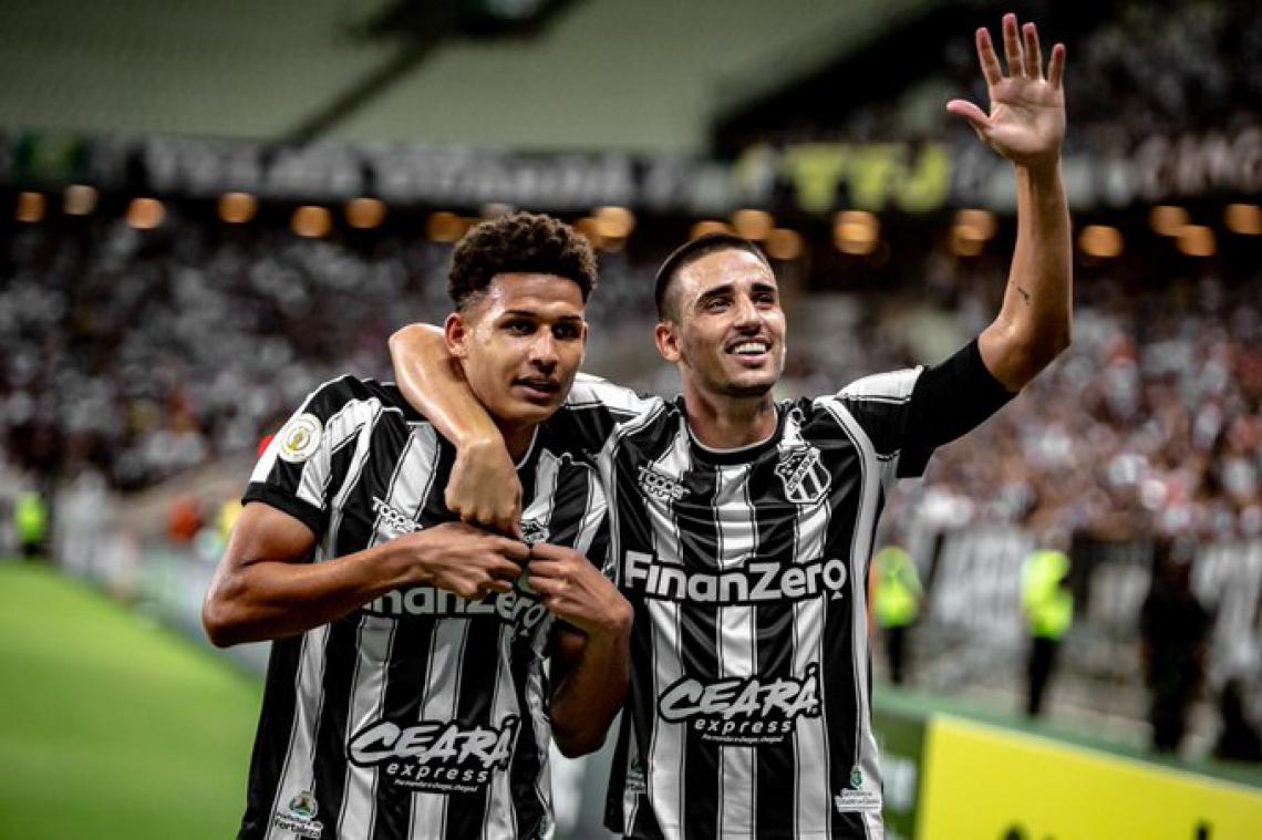 Felippe Cardoso e Thiago Galhardo são os destaques do Ceará