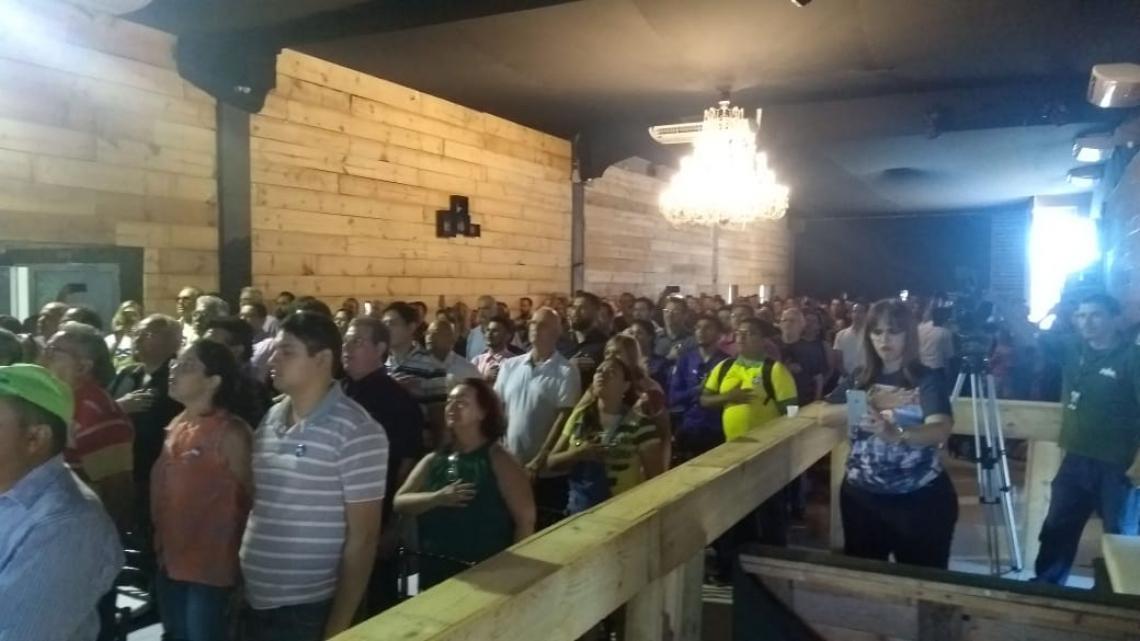 PSL recebeu militantes em evento neste sábado