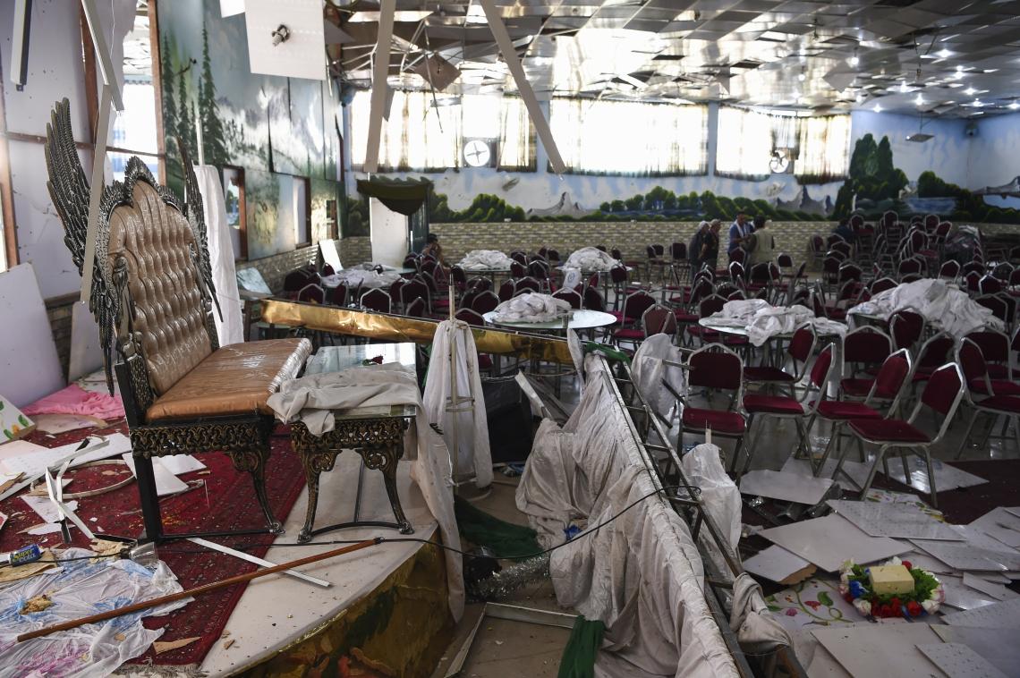 Casamento estava lotado no momento da explosão