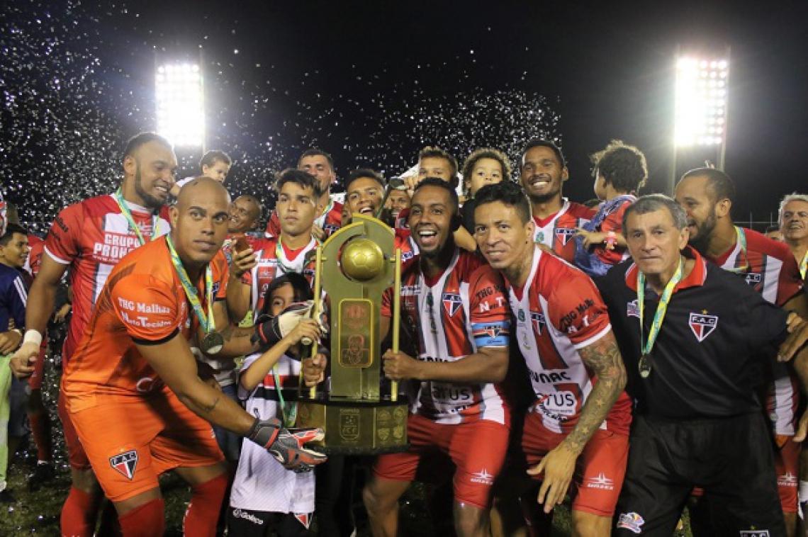Ferroviário foi o campeão da última edição da Taça Fares Lopes, em 2018