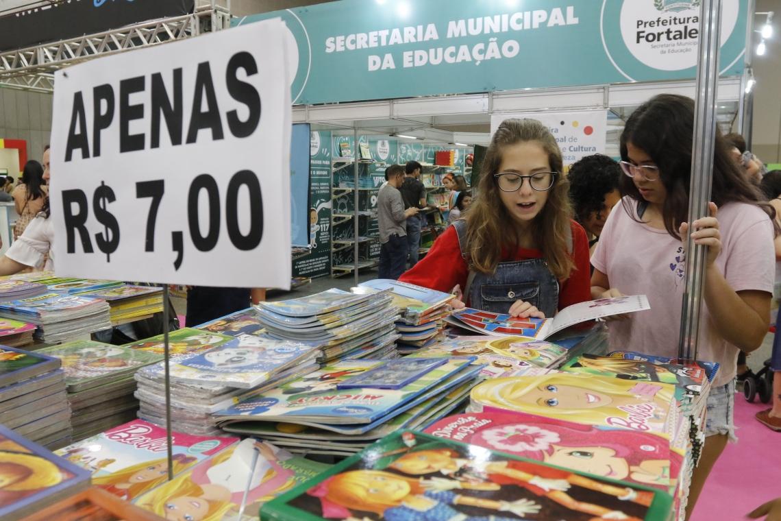 Confira programação da XIII da Bienal Internacional do Livro do Ceará de hoje, terça, 20 de agosto (20/08)