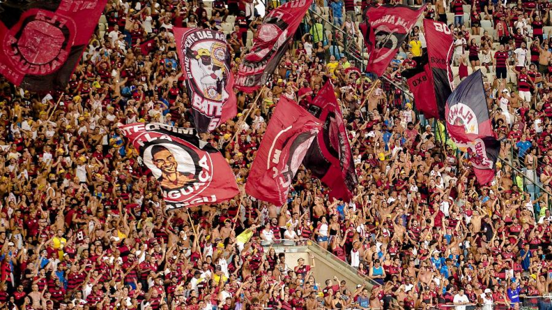 Torcida do Flamengo deve lotar seu setor no Castelão.