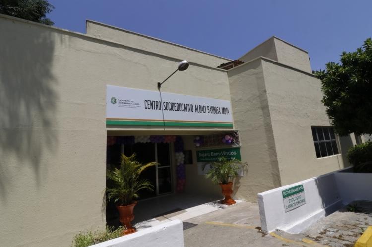 CENTRO SOCIOEDUCATIVO Aldaci Barbosa, no bairro Padre Andrade