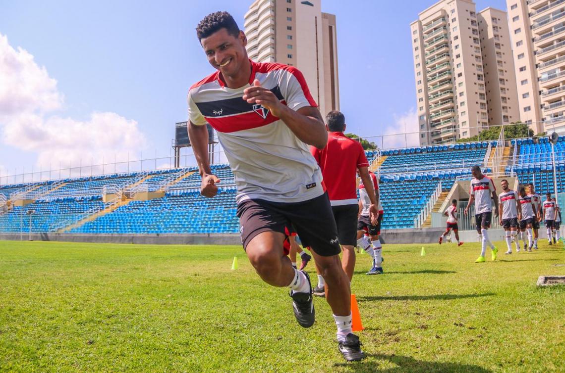 André Lima se prepara para sua estreia na Série C.