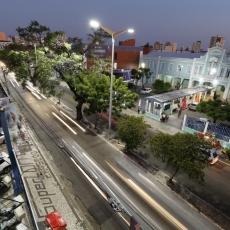 FORTALEZA, CE, BRASIL,  23-08-2019: Avenida Duque de Caxias irá passar por mudança no transito com a implantação de um trinário. (Foto: Alex Gomes/O Povo)