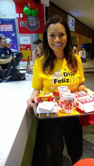 O dinheiro dos Big Mac's vendidos viabilizará a conclusão do 2º andar do Centro Pediátrico do Câncer