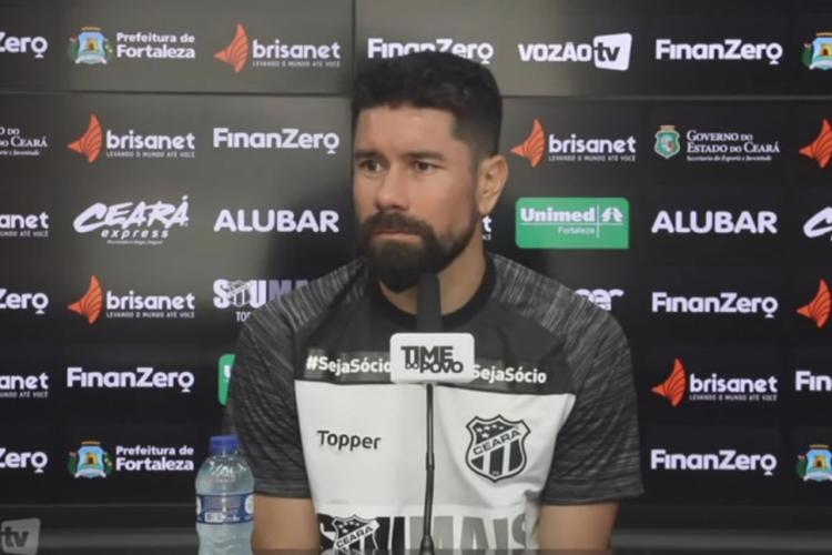 RIcardinho entende que contratações tornaram o elenco forte para 2020  (Foto: Reprodução/Vozão TV)
