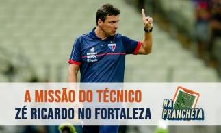 Os desafios de Zé Ricardo no Fortaleza | NA PRANCHETA #66