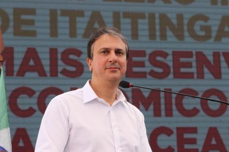 Camilo Santana, governador do Ceara