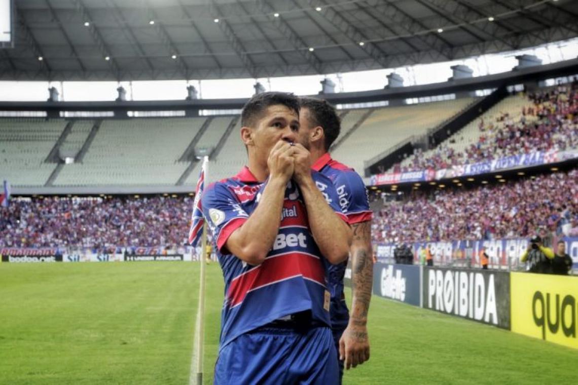 Osvaldo garante velocidade ao ataque do Fortaleza