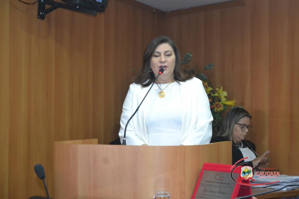Vereadora Natercia Campos foi afastada da presidência e do mandato(Foto: