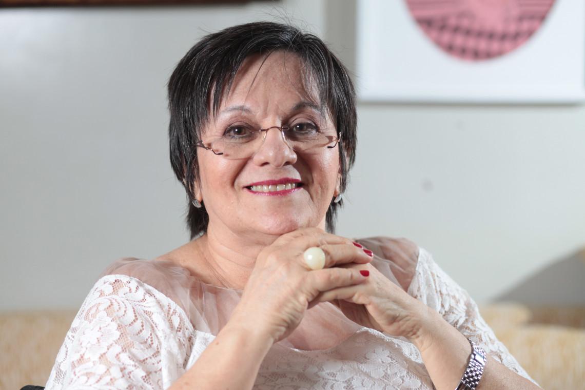 Maria da Penha, fundadora do Instituto Maria da Penha e inspiradora da Lei com seu nome. Especial Dia Internacional da Mulher, com Maria da Penha