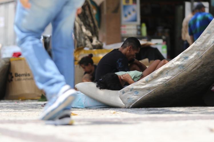 O ÚNICO CENSO da população em situação de rua em Fortaleza ocorreu em 2014