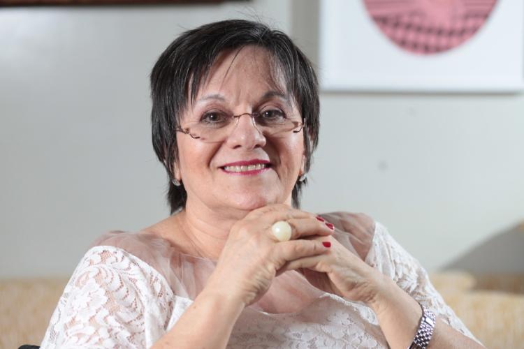 Maria da Penha, fundadora do Instituto Maria da Penha e inspiradora da Lei com seu nome. Especial Dia Internacional da Mulher, com Maria da Penha (Foto: Rodrigo Carvalho/O POVO)