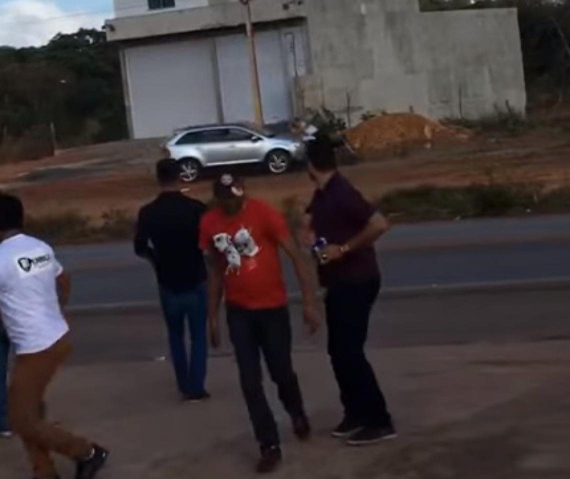 Vídeo incluído nos autos mostra atropelamento das vítimas pelo empresário
