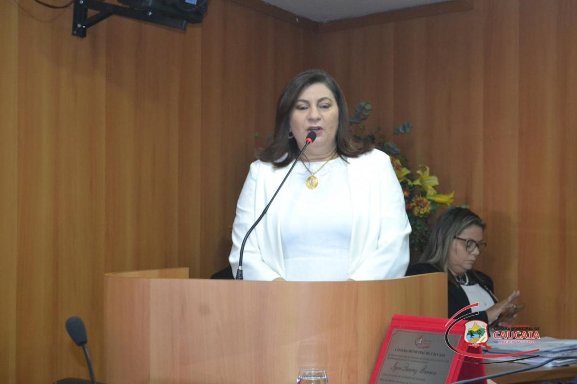 Vereadora Natercia Campos foi afastada da presidência e do mandato
