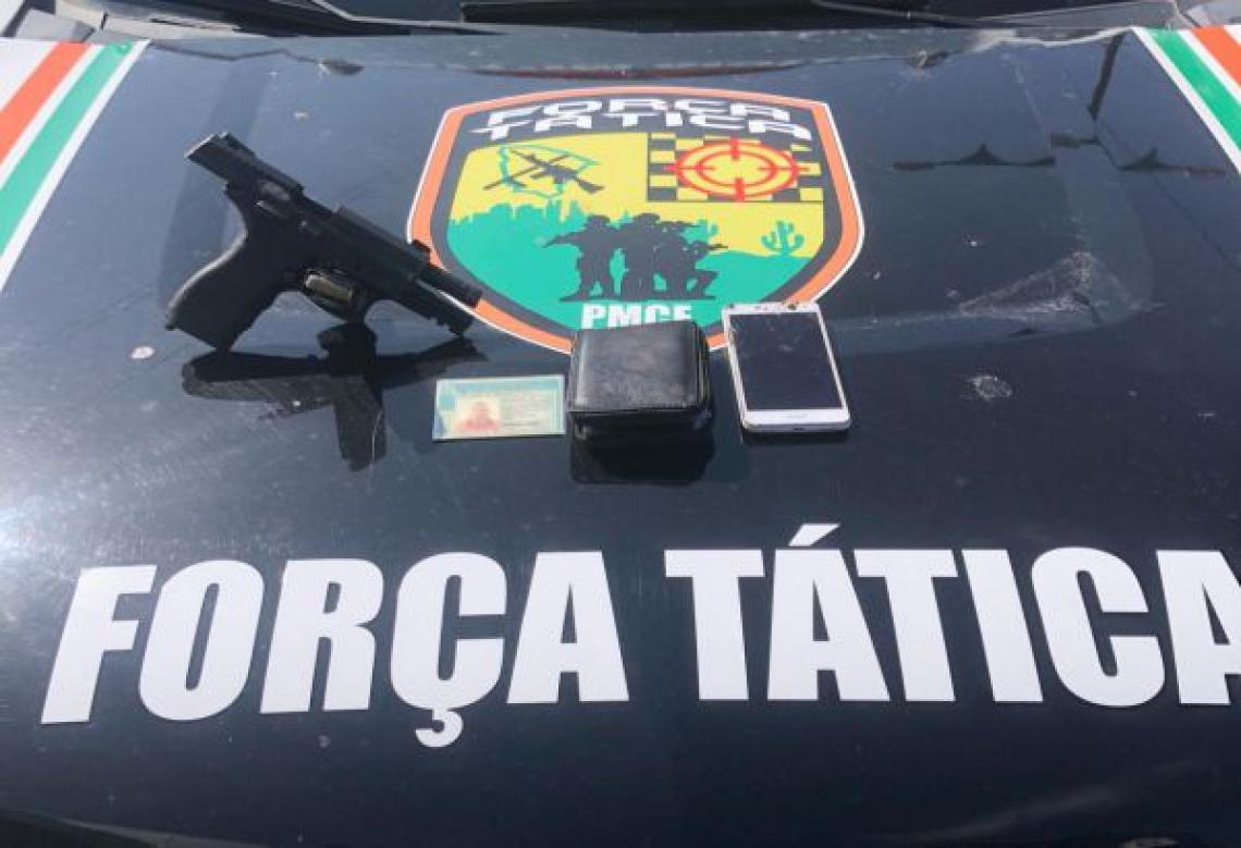 Força Tática da Polícia Militar do Ceará (PMCE) participou da ação