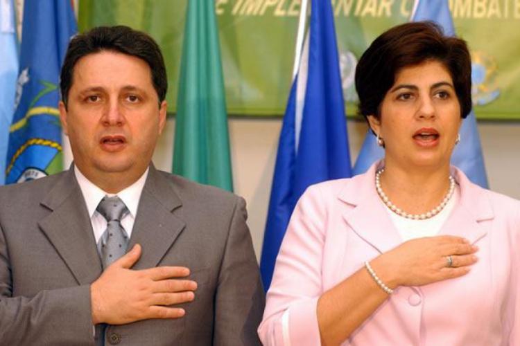 O casal de ex-governadores Anthony e Rosinha Garotinho (Foto: REPRODUÇÃO)
