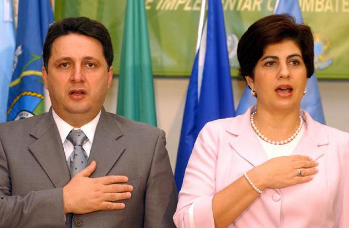 O casal de ex-governadores Anthony e Rosinha Garotinho foram presos nesta terça-feira, 3