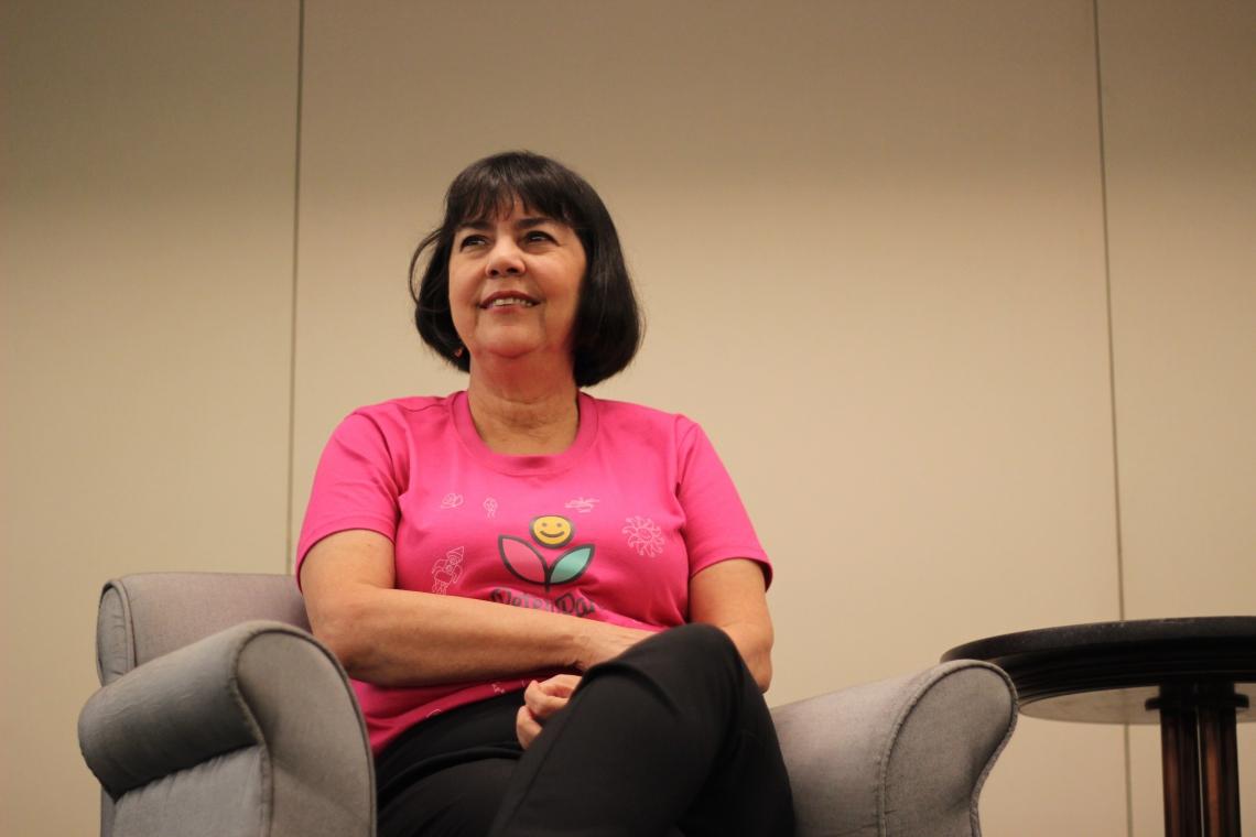 Olga Freire, da Associação Peter Pan