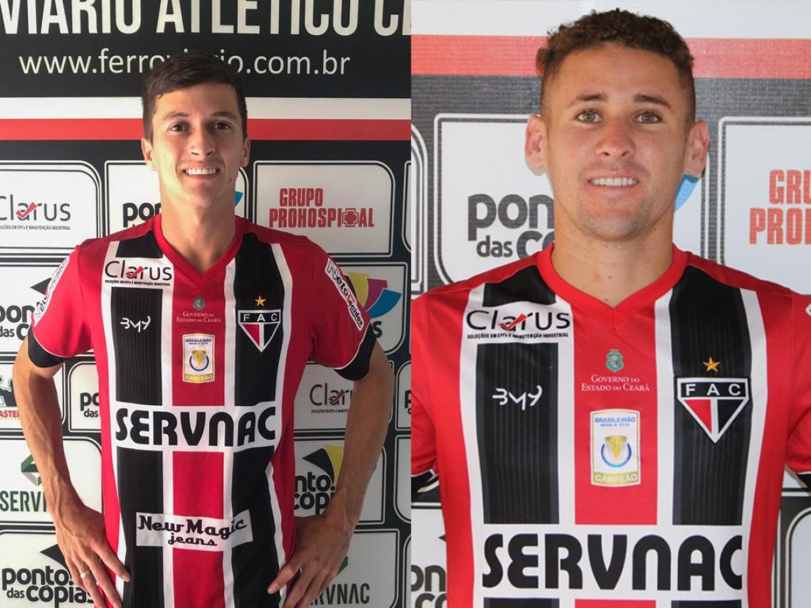 Jogadores já trabalharam anteriormente com técnico Marcelo Veiga