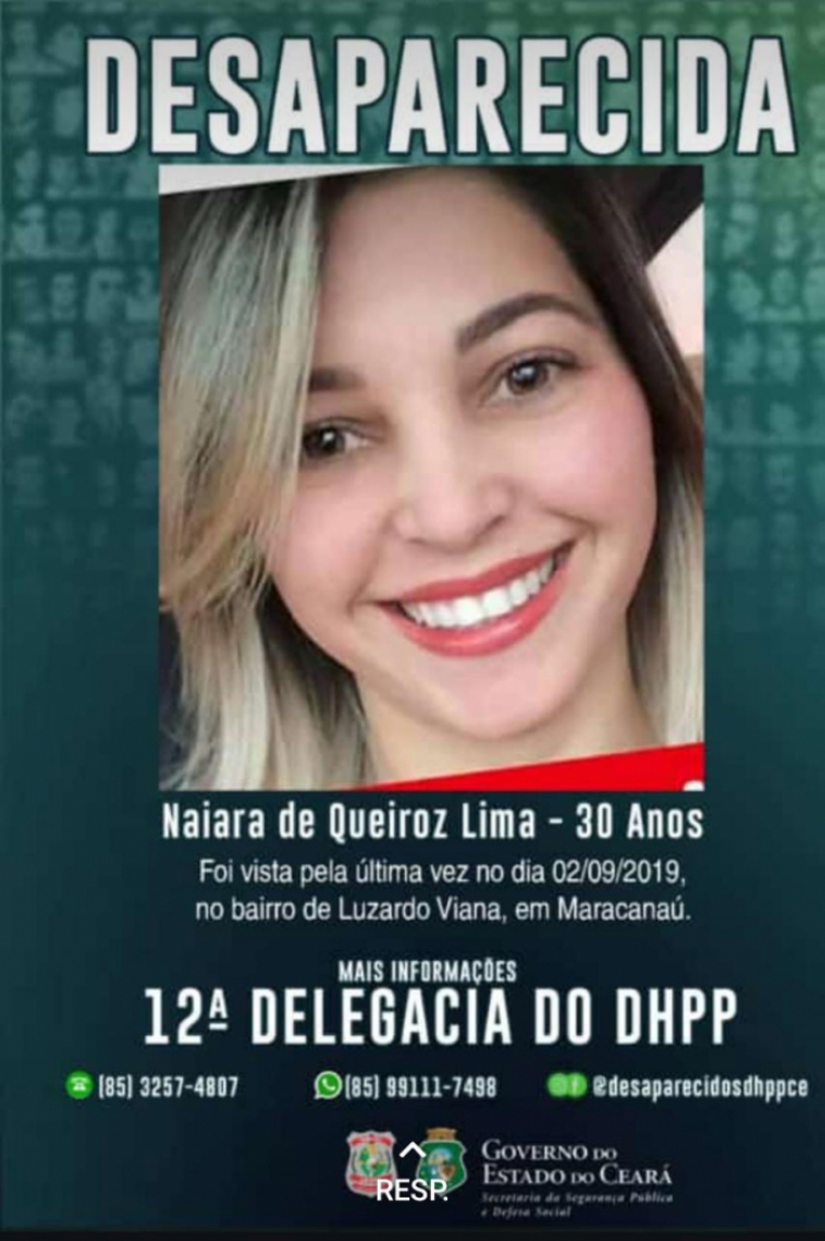 Família procura por mulher desaparecida em Maracanaú.