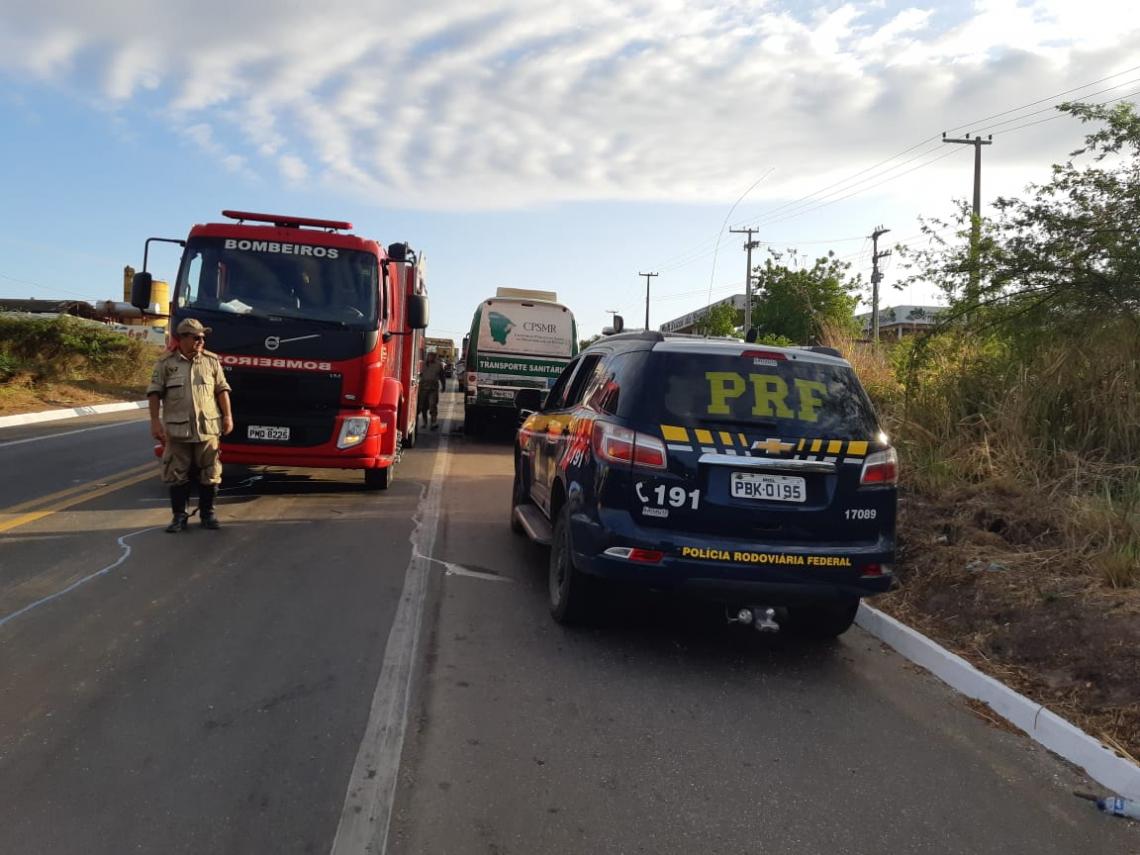 Acidente ocorreu no município de Pacajus