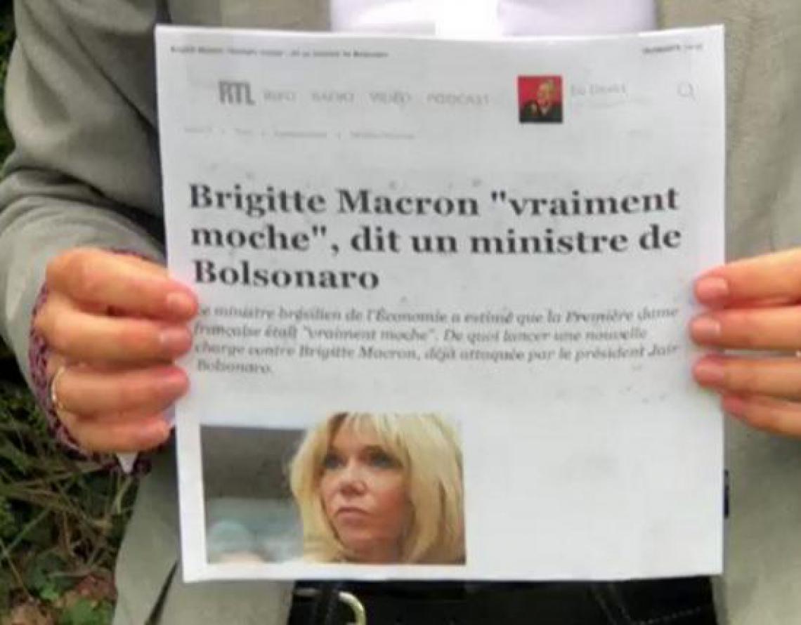 Postagem da filha da primeira-dama da França conclama mobilização contra machismo e misoginia