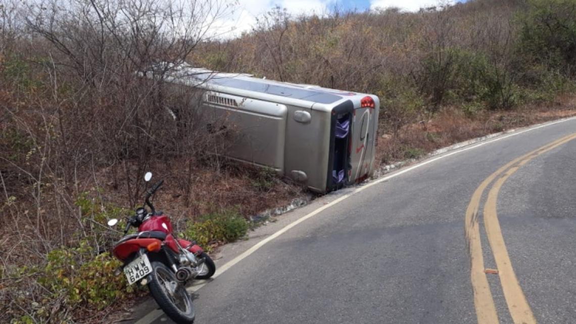 O acidente aconteceu na cidade de Alcântaras.