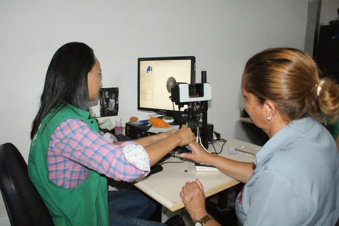 Para fazer a biometria, é preciso comparecer a um posto de atendimento com horário marcado