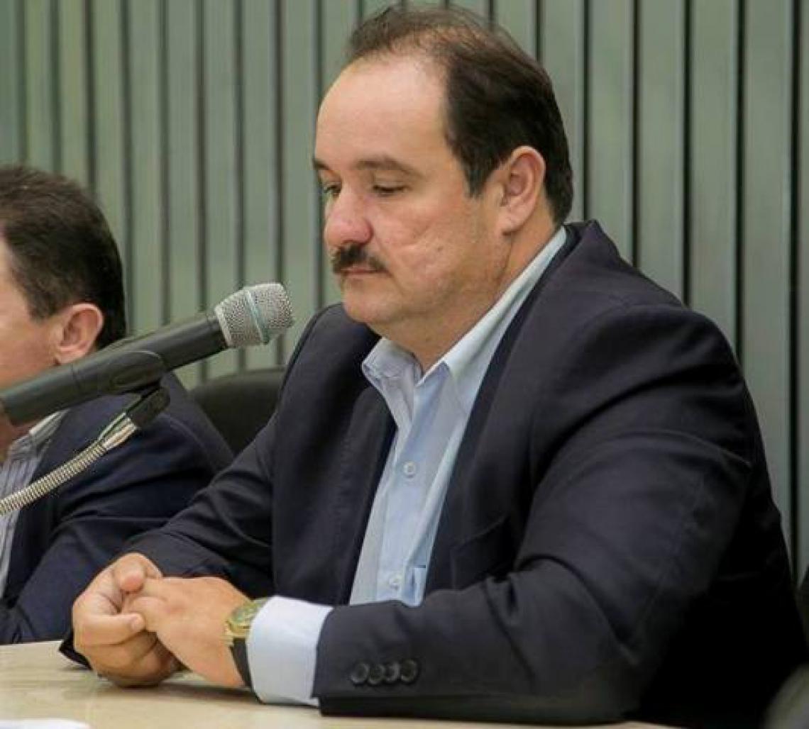 Presidente da Câmara de Maracanaú, vereador Carlos Alberto
