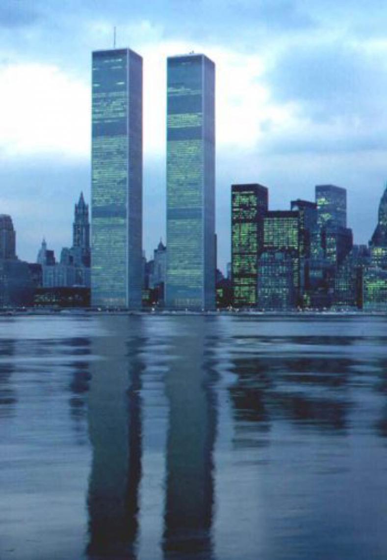 Como eram as torres gêmeas do WTC