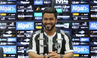 Baxola jogou sete partidas pelo Ceará, após última lesão