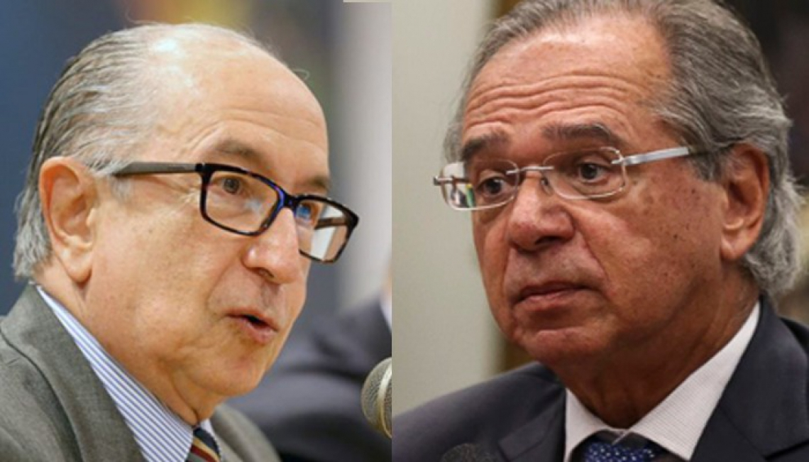 Marcos Cintra e Paulo Guedes