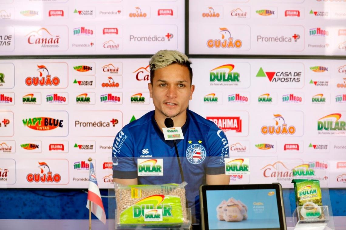 Atacante retorna ao Bahia após participar de dois amistosos pela Seleção Olímpica