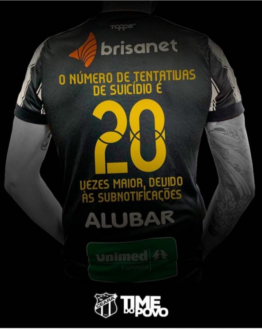 Um dos dados que estarão nas camisas dos jogadores