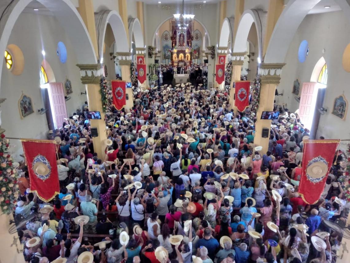 A Romaria da Nossa Senhora das Dores se encerra neste domingo, 15