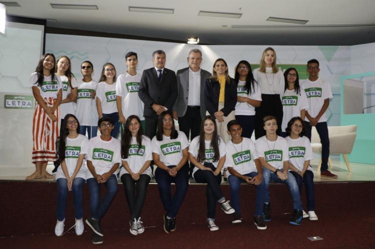 FORTALEZA, CE, BRASIL, 17-09-2019: Ao Pé da Letra, uma promoção da Assembléia Legislativa do e Secretaria de Educação do Estado do Ceará. (Foto: Mauri Melo/O POVO).