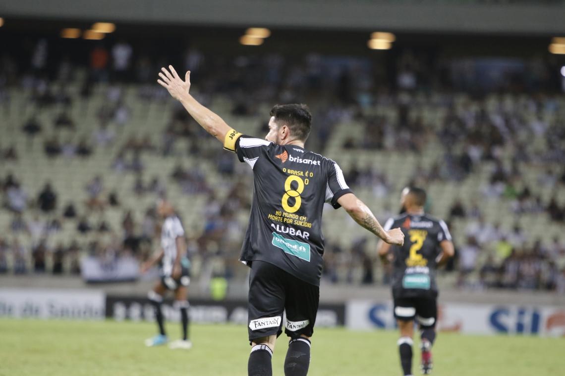 Ídolo e capitão do time, Ricardinho deve permanecer no Ceará em 2020