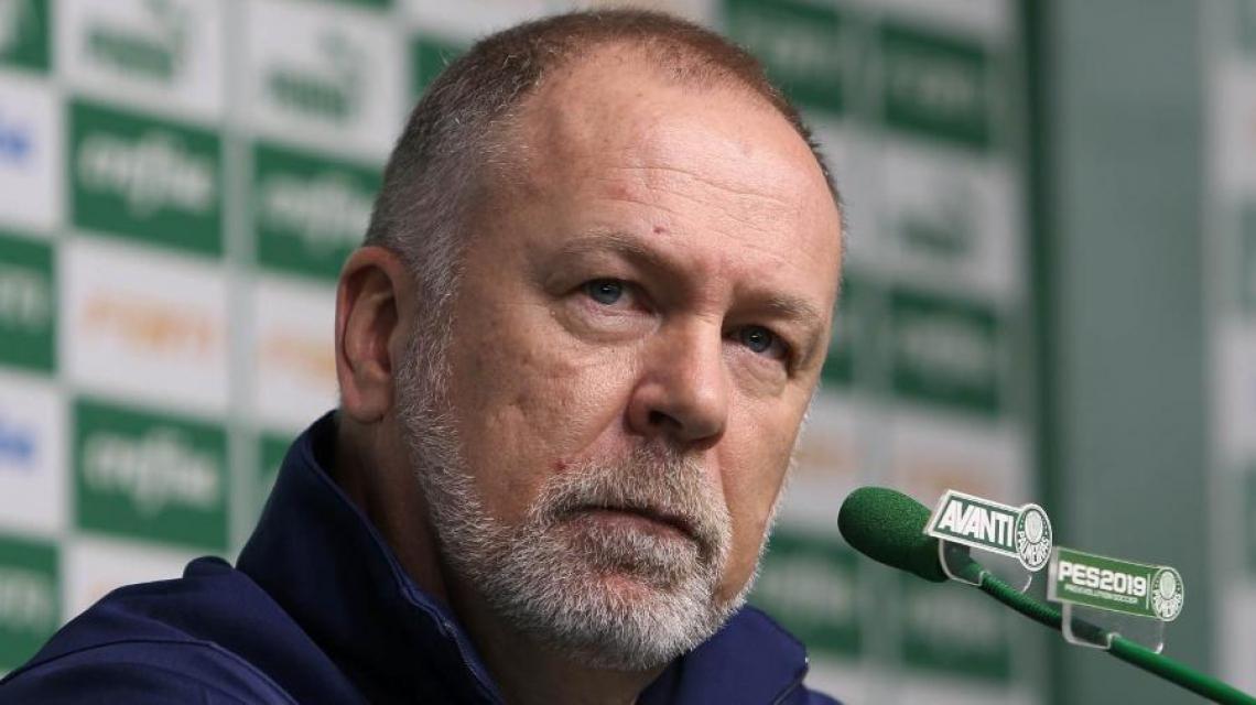 Mano Menezes venceu seus três primeiros jogos no comando do Palmeiras.